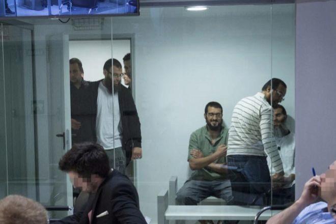 Momento del juicio contra los 6 yihadistas, celebrado este lunes.