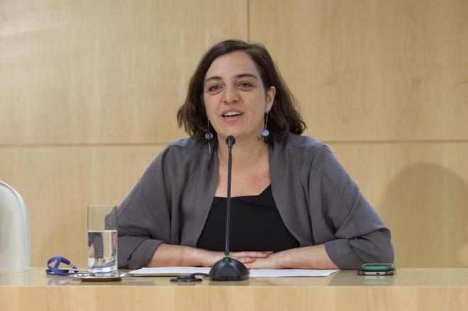 La concejal de Ahora Madrid Celia Mayer.