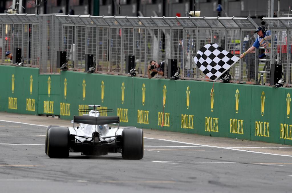 Lewis Hamilton, el hombre más rápido de Silverstone. El inglés se...