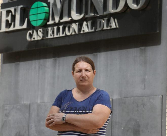 Laura Pérez, transexual del colectivo Castelló LGTB.