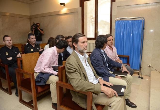 Los hijos de Ruiz-Mateos, durante el juicio celebrado el mayo pasado.