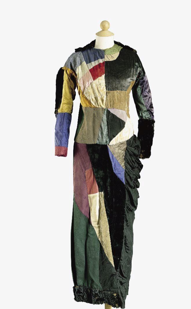 'Vestido simultaneo', (1932).