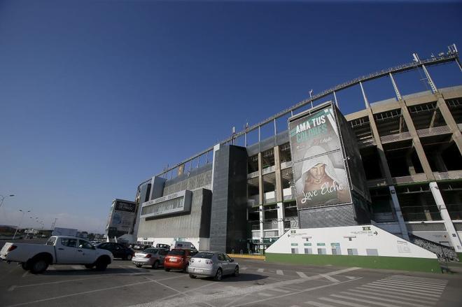 El Martínez Valero, estadio del Elche CF.