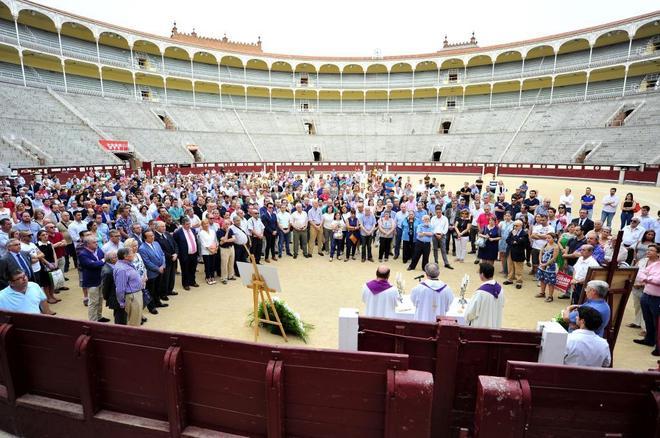Misa funeral en el ruedo de Las Ventas por el torero vasco