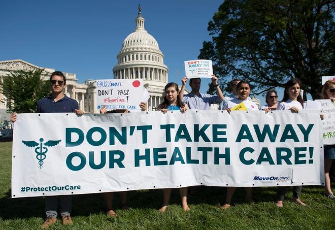 La reforma sanitaria de los republicanos encalla en el Senado de EEUU