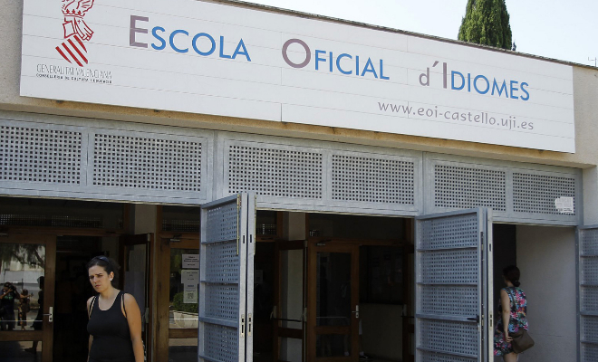 Escuela Oficial de Idiomas de Castellón.
