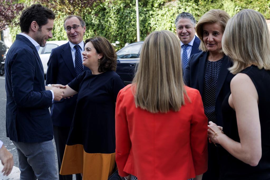 Santamaría advierte a la Generalitat de que