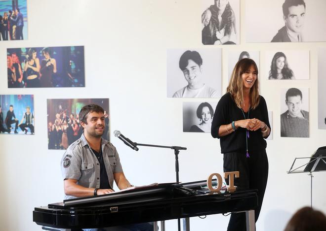 Noemi Galera y Manu Guix, en el especial 'OT: el reeencuentro'.