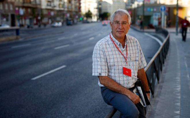 Enrique del Olmo, candidato a la secretaría general del PSOE de Madrid, en una fotografía de archivo.