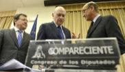 El ex Ministro del Interior, Jorge Fernández Díaz, en la Comisión...