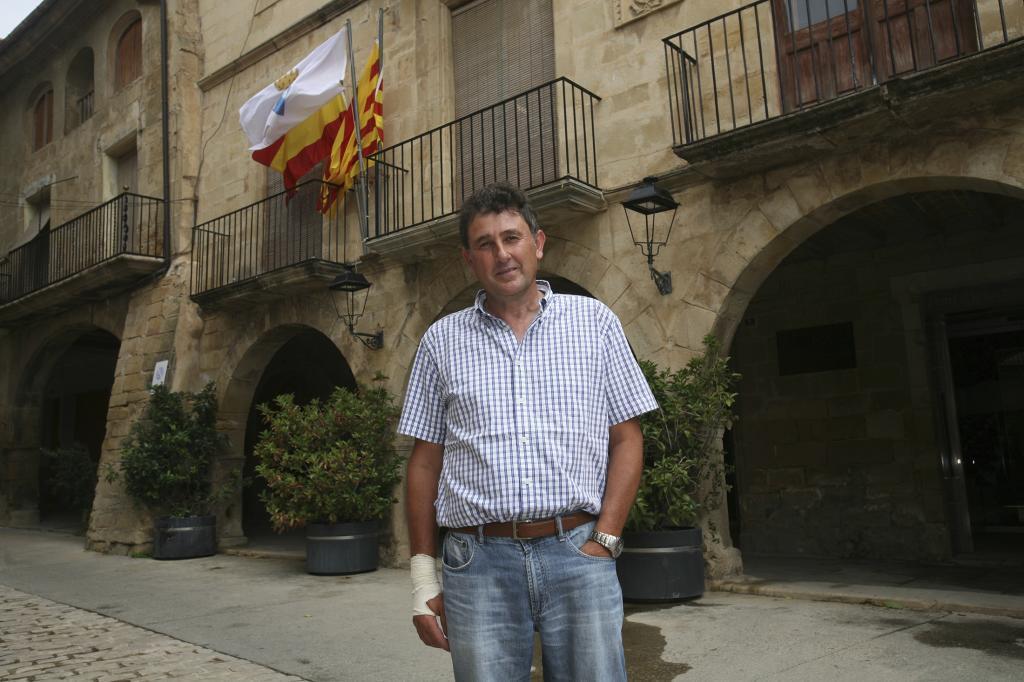 El alcalde del municipio tarraconense de Batea, Joaquim Paladella.