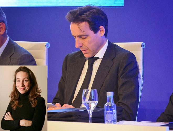 Javier López Madrid y Elisa Pinto en imágenes de archivo.