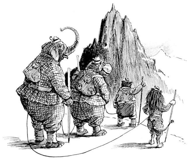 La montaña contada para chicos y grandes
