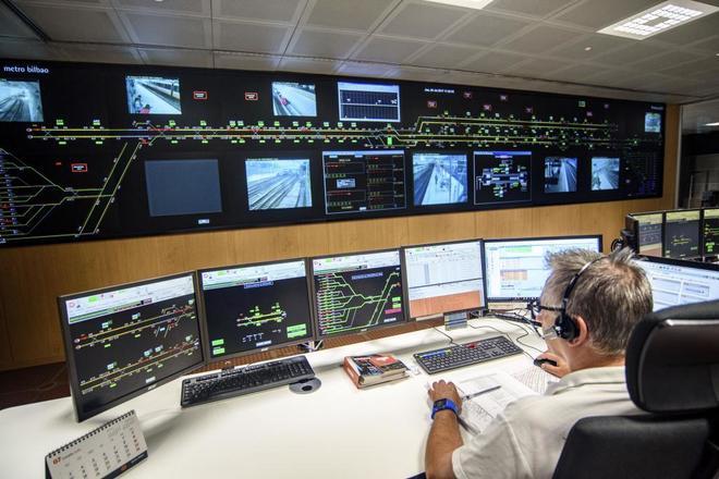 El metro de bilbao contar con un segundo puesto de mando for Oficinas del consorcio de transportes de madrid puesto 2