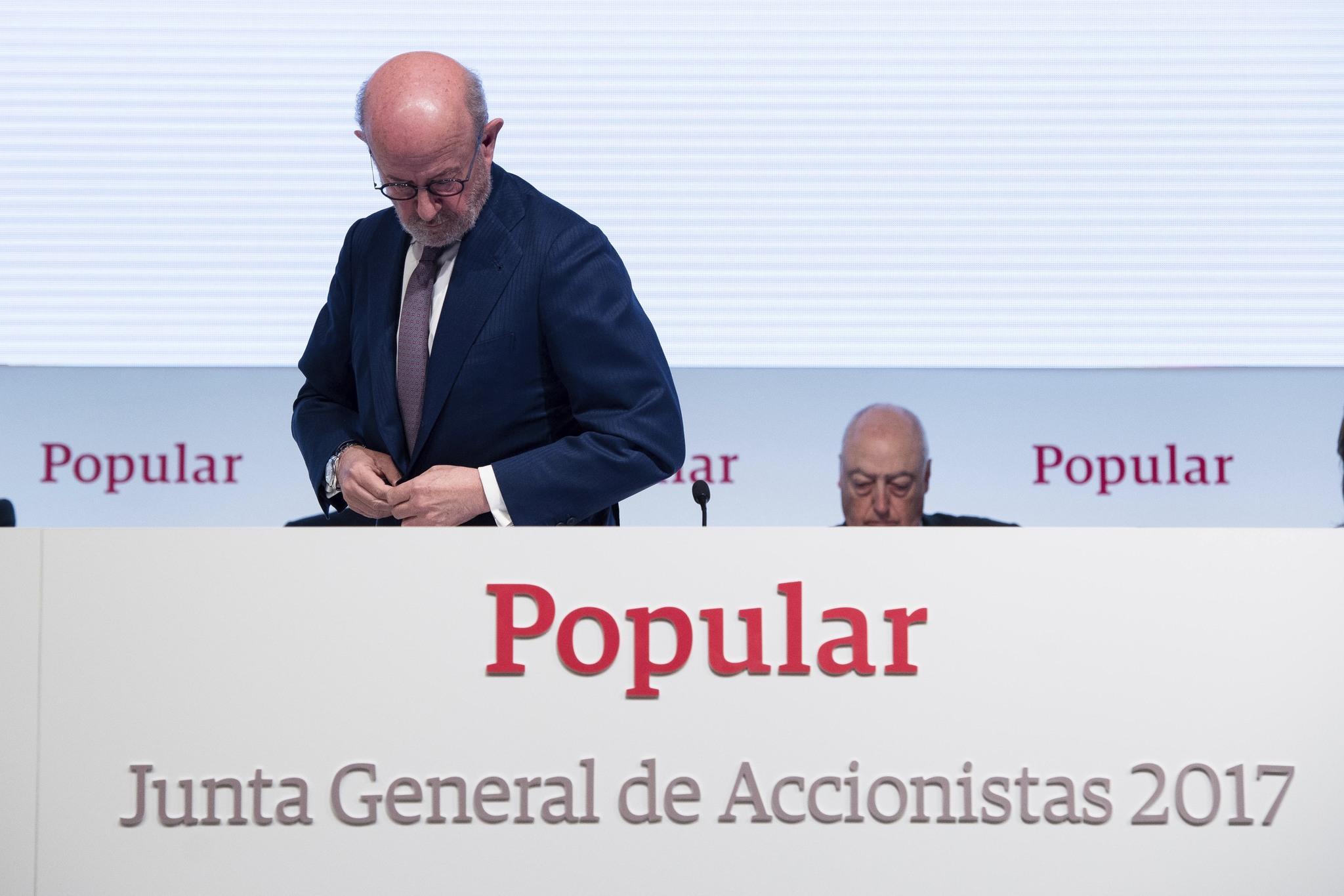 El ex presidente de Banco Popular, Emilio Saracho.