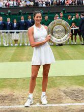 La última campeona de Wimbledon ha adelgazado este año, es imagen de...