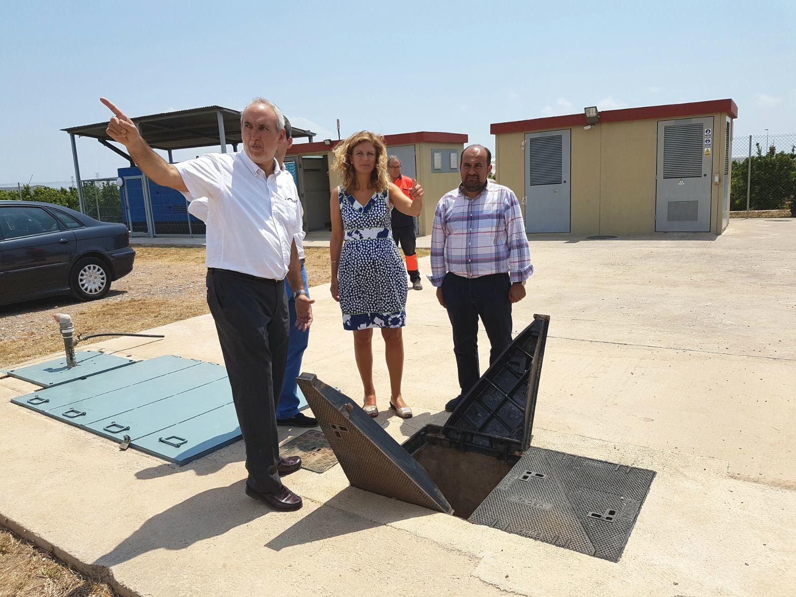 Marco destaca que el suministro de agua a la ciudad de Castellón ...