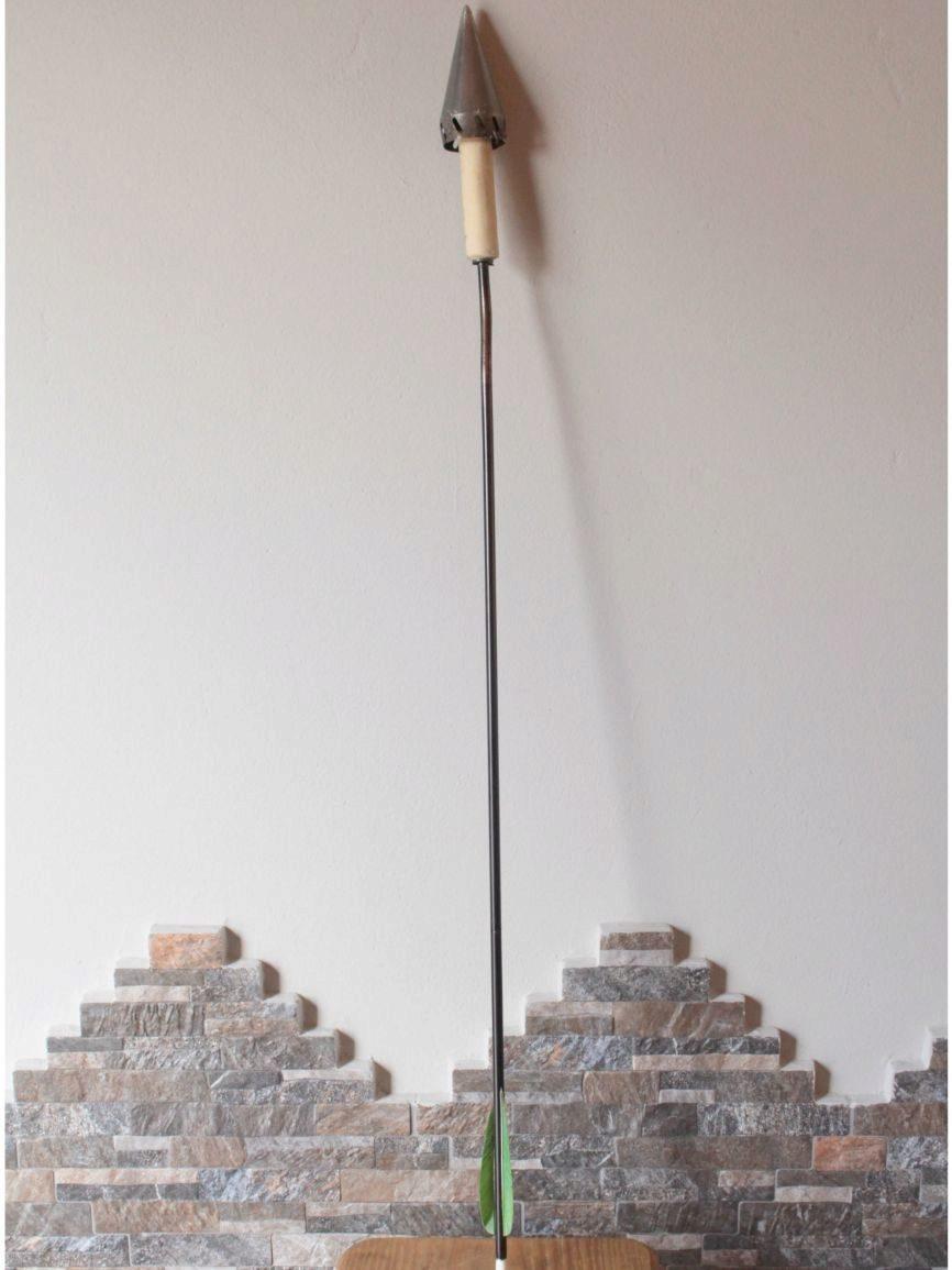 Así se conserva la flecha utilizada en la ceremonia inaugural de...