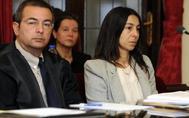Raquel Gago, durante la segunda jornada del juicio en la Audiencia Nacional de León.