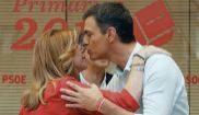 El 'reencuentro' de Sánchez y Díaz, en el congreso del PSOE andaluz