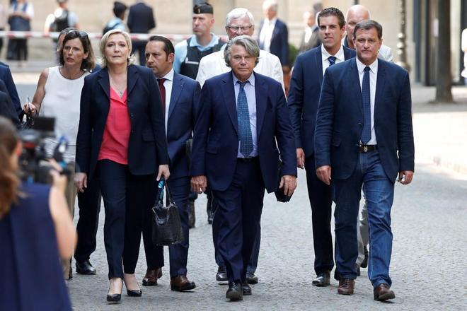 El Frente Nacional de Le Pen someterá a consulta las grandes cuestiones del partido