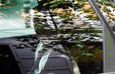 Ignacio González, en el coche policial que le condujo a su última...