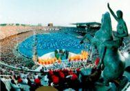 La ceremonia de apertura de los Juegos de Barcelona, donde actuó La Fura dels Baus.
