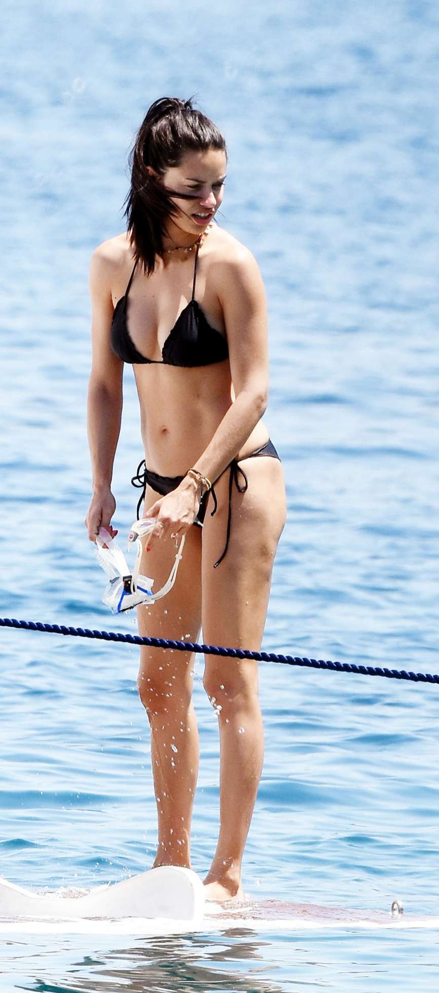 La supermodelo Adriana Lima (36) está disfrutando de unos días de...