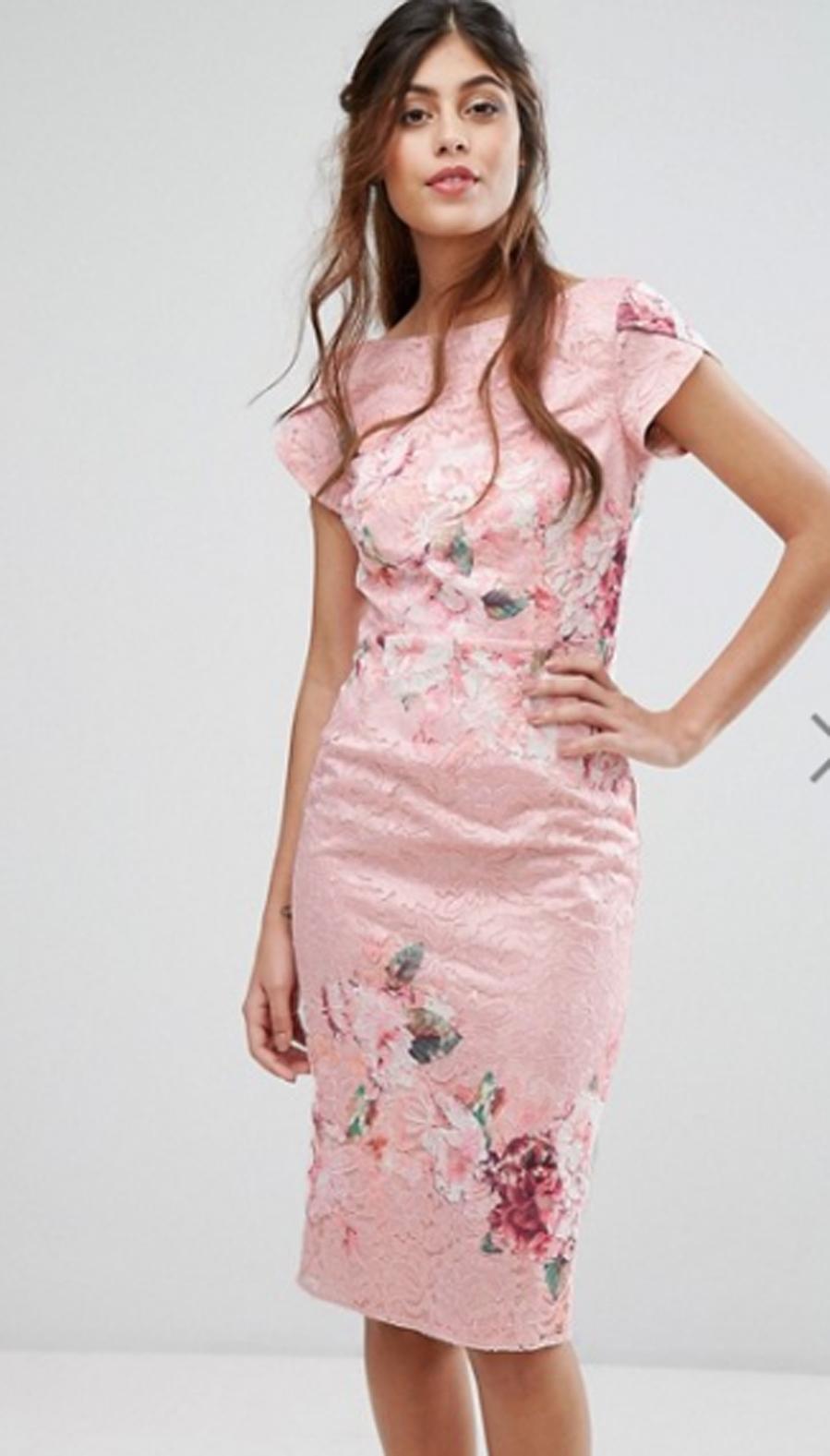 Vestido de seda flores de Monique Lhuillier | Yodona/moda | EL MUNDO