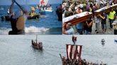 Moros y Cristianos; 'Ofrecidos' y Desembarco Vikingo.