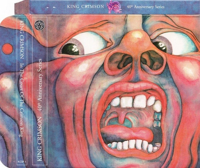 "Su disco: ""In the court Of The Crimson King""."