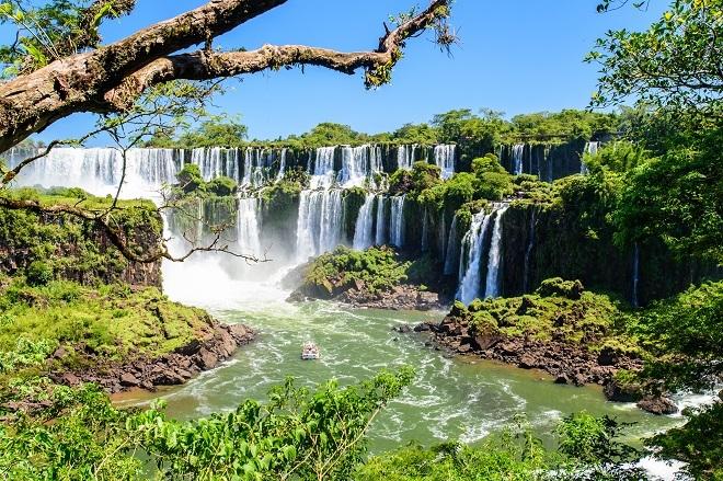 Su rincón del mundo: las cataratas de Iguazú (Argentina).