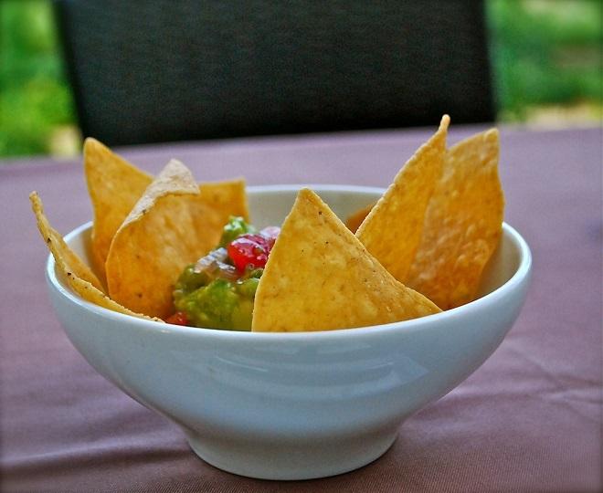 Su plato preferido: Los nachos con queso y guacamole casero.