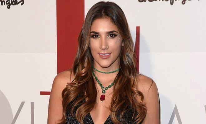 Daniela Ospina, ex mujer de James, en una imagen reciente.