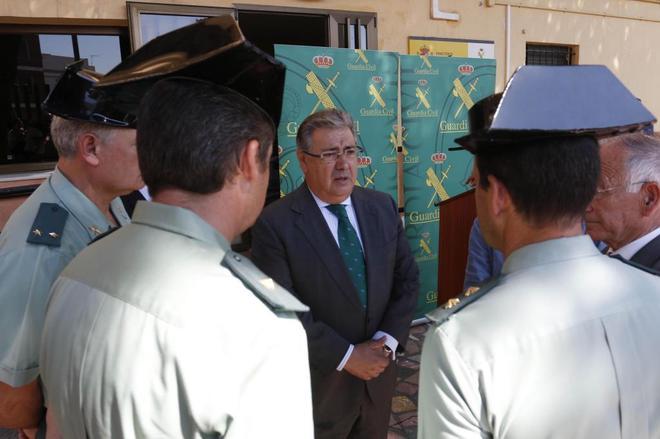 Juan Ignacio Zoido, el pasado lunes en el Puesto Principal de la...