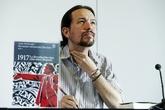El líder de Podemos, Pablo Iglesias, esta semana durante un debate en...