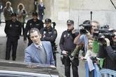 Iñaki Urdangarin a su salida de la Audiencia Provincial de Palma el...