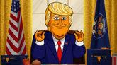 El protagonista de la serie animada sobre de Donald Trump.