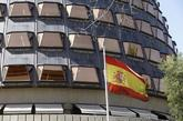 La sede del Tribunal Constitucional, donde se ha reunido hoy el pleno...