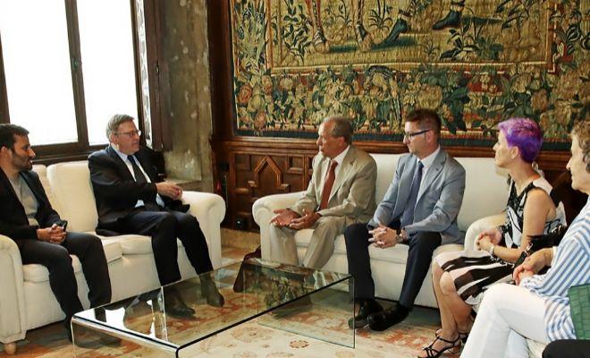 Ximo Puig y Vicent Marzà prometen un 'plan de estabilidad' a la concertada
