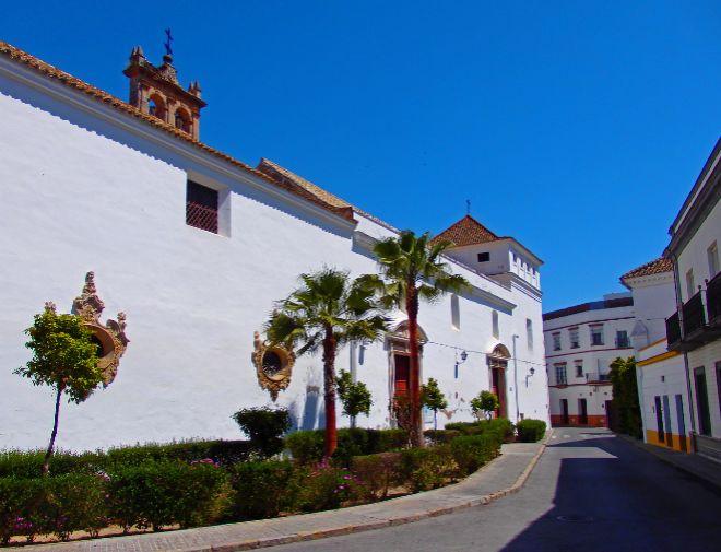 Calles del casco antiguo de Sanlúcar.
