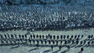 Fotograma de la 'Batalla de los bastardos', capítulo de la serie...