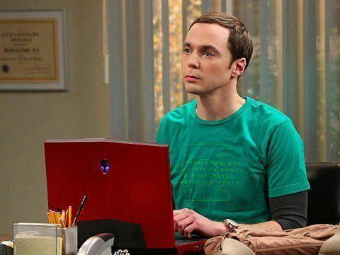 Jim Parsons como Sheldon Cooper en un episodio de 'The Big Bang...