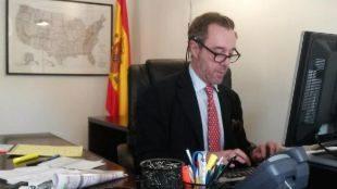 El hasta ahora cónsul de España en Washington, Enrique Sardà Valls,...