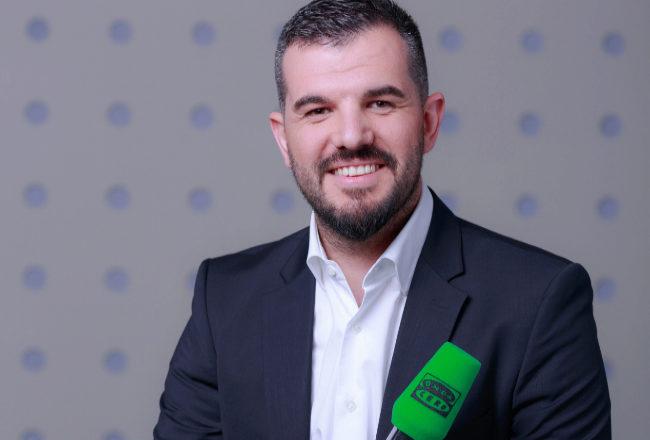 El periodista de Onda Cero Héctor Fernández.