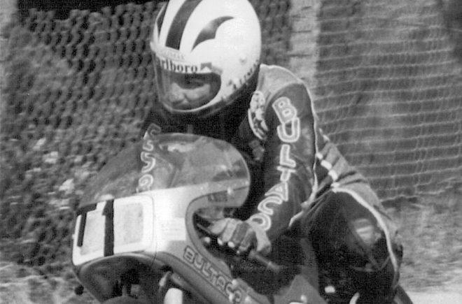 Ángel Nieto montado sobre una moto Bultaco, en una foto de archivo de finales de los años 70.