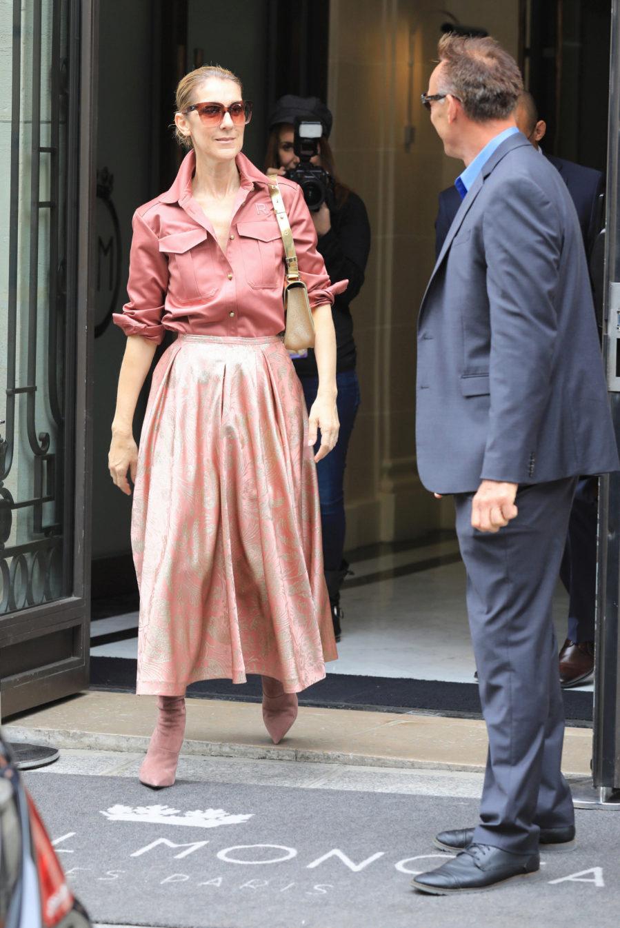Una vez más Celine Dion forma parte de las mejor vestidas de la...