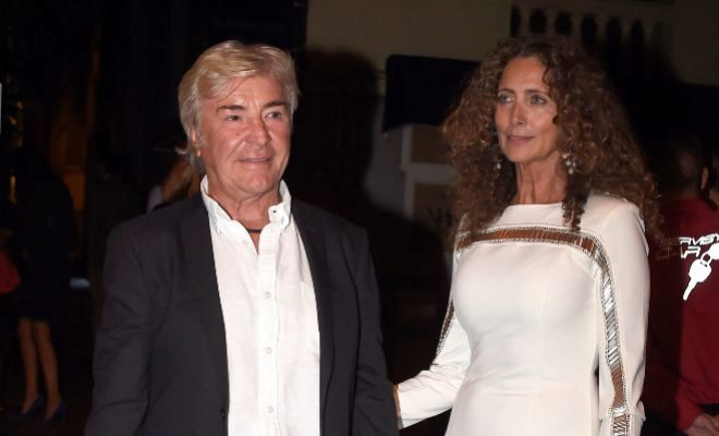Ángel Nieto, junto a Belinda Alonso, con la que no se llegó a casar.
