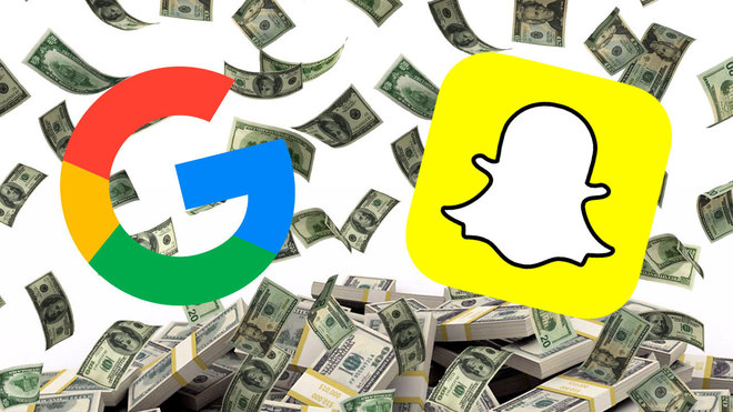 Google quiso comprar Snapchat... y aun podría estar interesado
