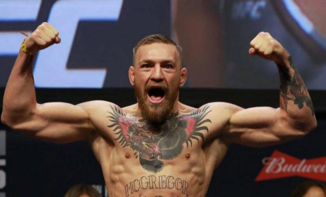 McGregor, durante la UFC del año 2016.